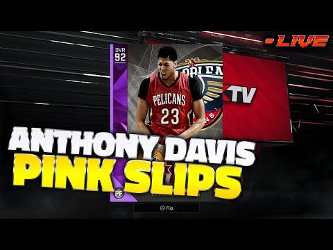 NBA 2K16 AMETHYST ANTHONY DAVIS PINKSLIPS