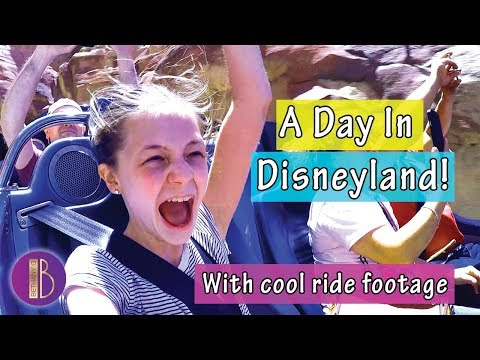 A Day In Disneyland & Disney California Adventure with RIDE FOOTAGE   Bethany G
