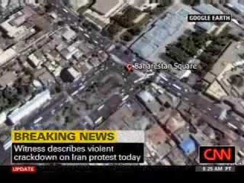 CNN Video - Tehran June 24, 2009 (via Huffington Post)