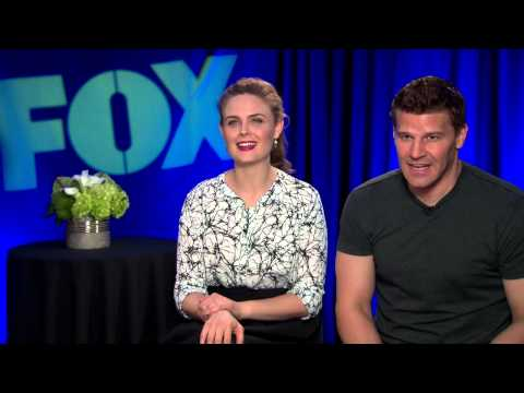 Emily Deschanel & David Boreanaz Interview