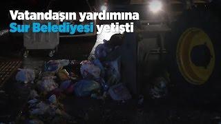 Diyarbakır'da vatandaşın yardımına Sur Belediyesi yetişti