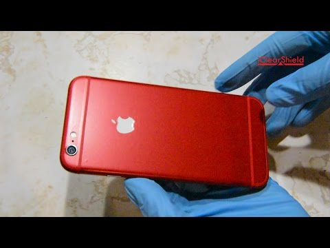 iPhone 6 and 7 Red Skin Kit - How to Install