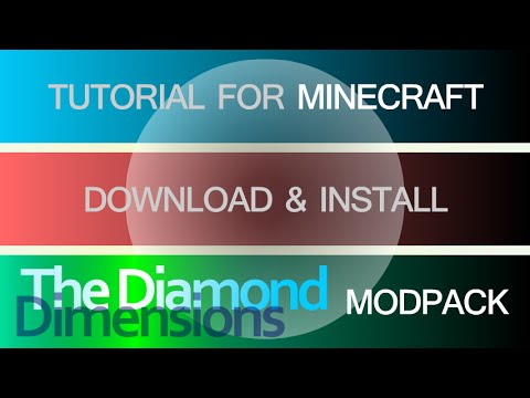 THE DIAMOND DIMENSIONS MODPACK 1.7.10 minecraft - how to download and install