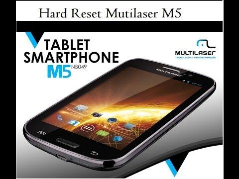 Hard Reset Mutilaser M5