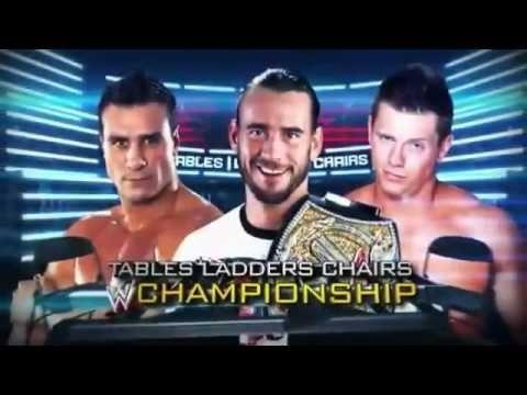 Wwe T.l.c 2011 - Cm Punk Vs Alberto Del Rio Vs The Miz Full Match (hq) video
