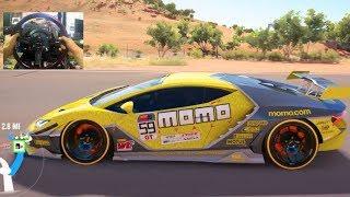 Forza Horizon 3 GoPro DONT BRAKE Challenge!! 1550hp Lamborghini Centenario   SLAPTrain