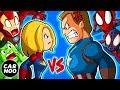 Captain America Hates Captain Marvel 【Marvel
