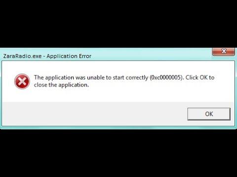 Как устранить ошибку 0xc0000005 на windows 7 самостоятельно видео
