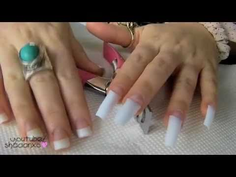 Acrylic Nails  How To Do Your Own Acrylic Nails At Home 