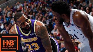 Los Angeles Lakers vs Philadelphia Sixers Full Game Highlights   02/10/2019 NBA Season