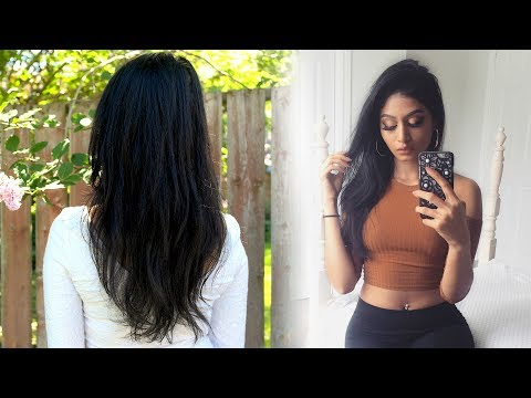 How I Cut and Maintain My Hair at HOME   CreaClip   Split Ends   Lavish Krish