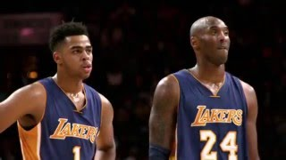 National Mentoring Month: D'Angelo Russell and Kobe Bryant
