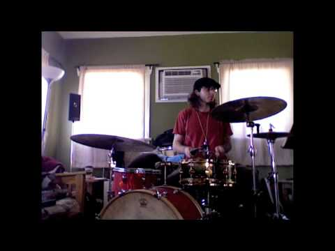 Some Drum Grooves in my living room