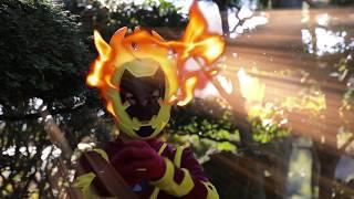 Real Life Ben 10 Heatblast Vs The Robber. Hero Time!