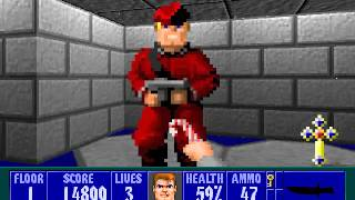 Wolfenstein 3D Christmas Special - Level 1