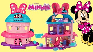 Minnie Mouse Magical Bow-Sweet Mansion House with Daisy & Mickey Toy Surprises