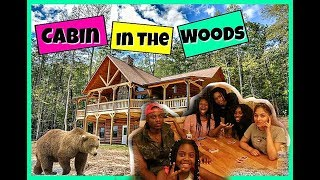 Cabin We In The Woods Ya'll |  Family Vlogs | JaVlogs