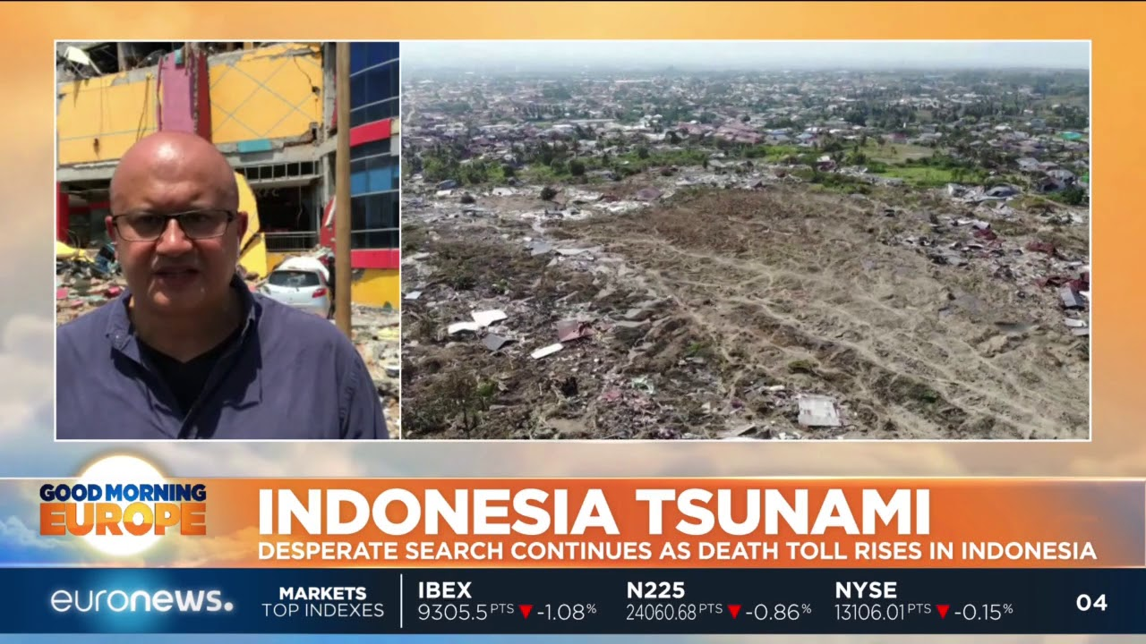 #GME   Desperate search continues as death toll rises in Indonesia