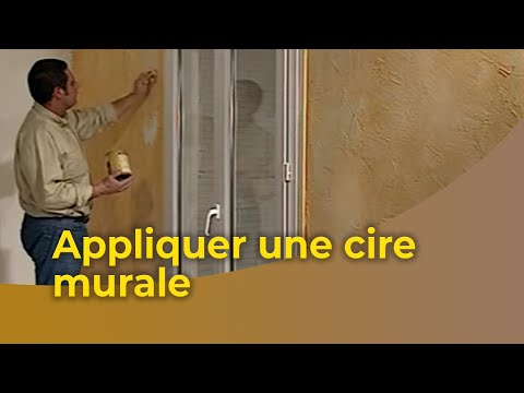 appliquer une cire murale youtube. Black Bedroom Furniture Sets. Home Design Ideas