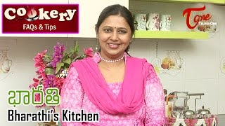 Cookery Tips & FAQs || How to make Butter Mirchi with Lemon