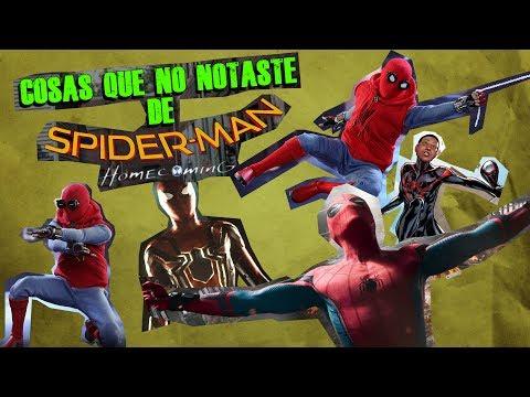 17 Referencias y Cosas que no notaste de Spiderman Homecoming