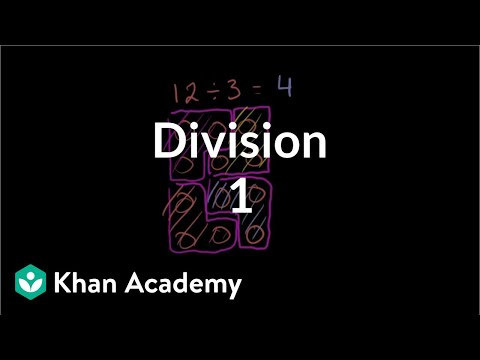 Khan Academy - Introduction To Division