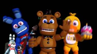 [SFM FNAF] Toy Bonnie reacts to FNAF World Trailer