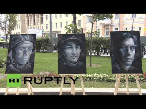 Russia: Foley, Stenin remembered - Moscow expo honours killed journalists