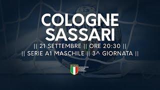 Serie A1M [3^]: Cologne - Sassari 28-28