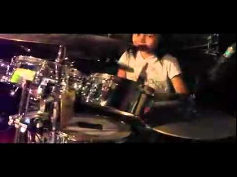 Kalonica 7 Y o Indonesian Girl Metal Girl Drummer video