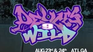 Finał Popping na Deuces Wild 9:  Africano & Mr Cool vs Item