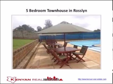 5 Bedroom Townhouse in Rosslyn, Nairobi, Kenya