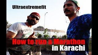 How to run a Marathon by Mir Raza Ali