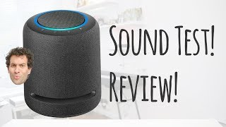 Amazon Echo Studio — Lord of thunder!  (Review & sound test REACTION)