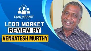 KannadaLead Market Success Story 6  VENKATESH MURT