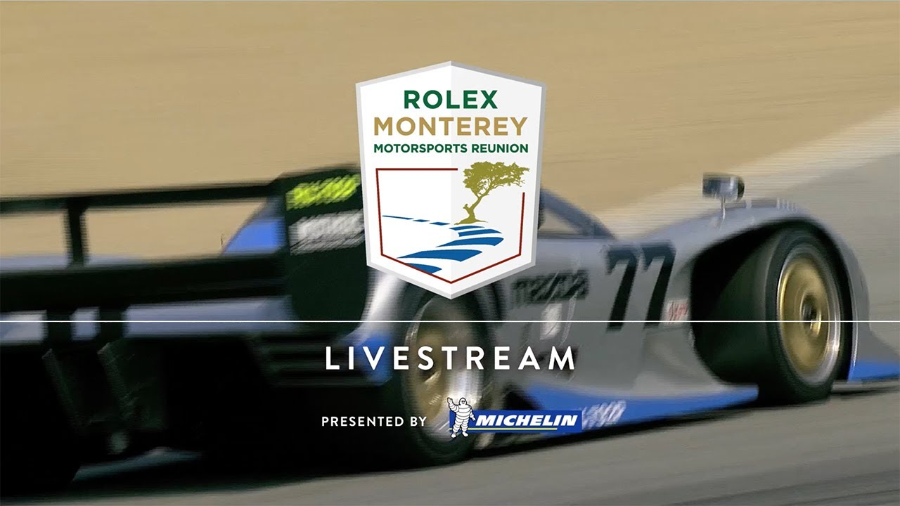 Classic Competition Comes to Life with The Rolex Monterey Motorsports Reunion Live Stream