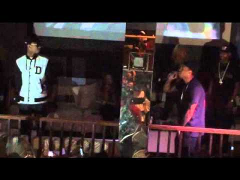 Tyga and Chris Brown Performing Live @ Blakely's NightClub In Chesapeake Va Shot By Wavy Ent.
