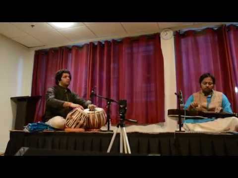 Rhitom Sarkar And Amit Kavthekar  Dhun In Jhinjhoti Providence May 25 2014 019 video