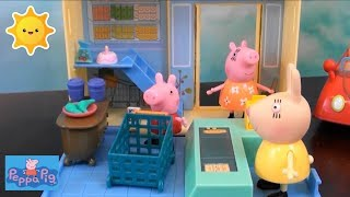 Peppa Pig Compilation: Thomas and Friends, Peppa Pig Grocery Store, Peppa Pig Happy Family