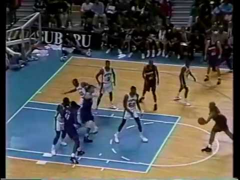 Charles Barkley (29p/12r) vs David Robinson (35p/11r) - highlights 1992/93 Season