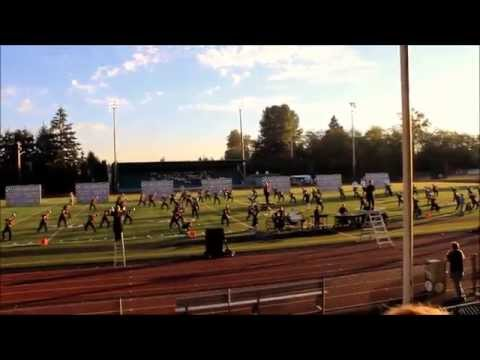 Cedarcrest High School Marching Band&Color Guard- Music in Motion
