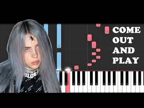 Billie Eilish - Come Out And Play (Piano Tutorial)