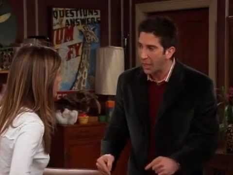 Friends-Ross and Rachel's fight