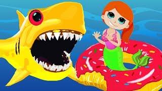 Baby Shark in Deep Dark Sea Song Sing and Dance #Babysharkchallenge