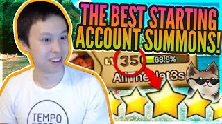 NEW Account Hits The JACKPOT of NAT 5s! - Beginners LUCK Is REAL?! - Summoners War