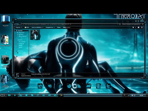 Pack de Personalizacion Light Blue  for Windows 7