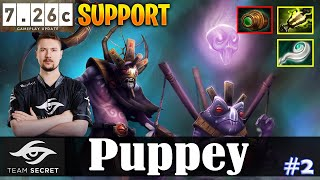Puppey - Witch Doctor Safelane | SUPPORT | 7.26c Update Patch | Dota 2 Pro MMR Gameplay #2