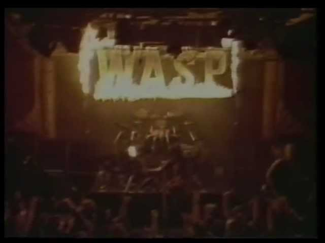 WASP - Videos ...in the raw (1987)