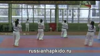 Demonstration of Hapkido IHF demo team from Korea. Part 1