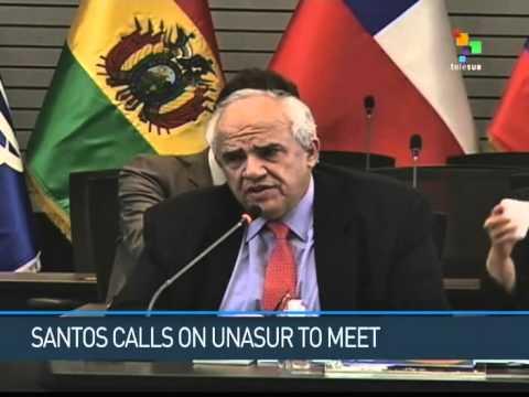 UNASUR Meeting on Hold Awaiting Caracas' Call